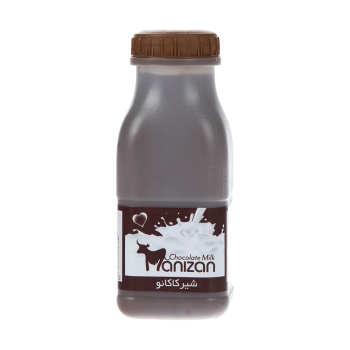 شیر کاکائو مانیزان مقدار 230 میلی لیتر