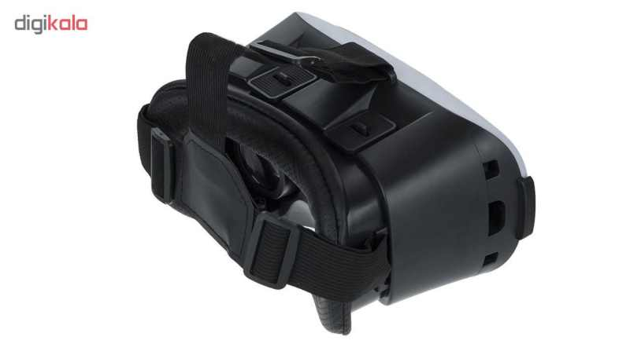 هدست واقعیت مجازی وی آر باکس مدل VR Box به همراه DVD نرم افزار و پنکه همراه لایتنینگ main 1 2