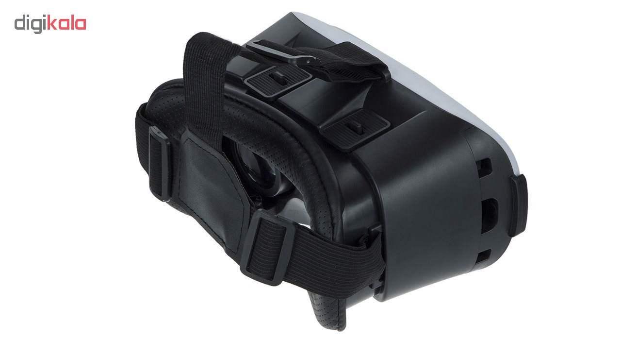 هدست واقعیت مجازی وی آر باکس مدل VR Box به همراه DVD نرم افزار و پنکه همراه لایتنینگ thumb 2
