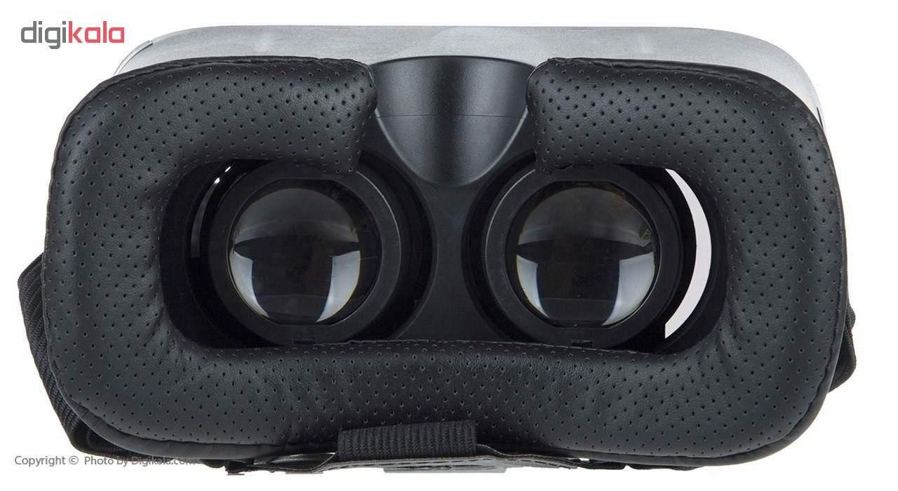 هدست واقعیت مجازی وی آر باکس مدل VR Box به همراه DVD نرم افزار و پنکه همراه لایتنینگ main 1 3