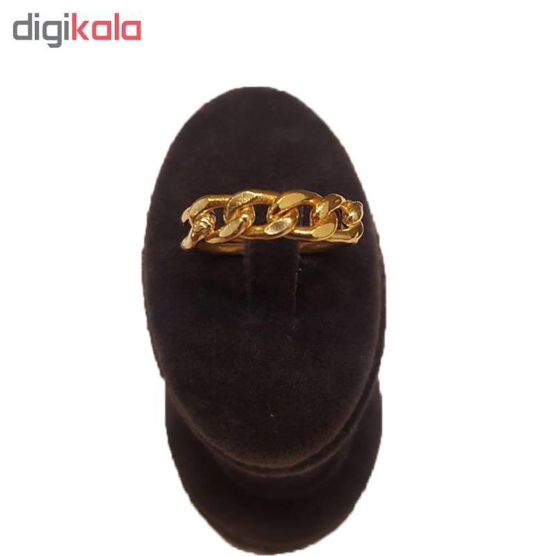 انگشتر طلا 18 عیار زنانه آزوریت کد 269