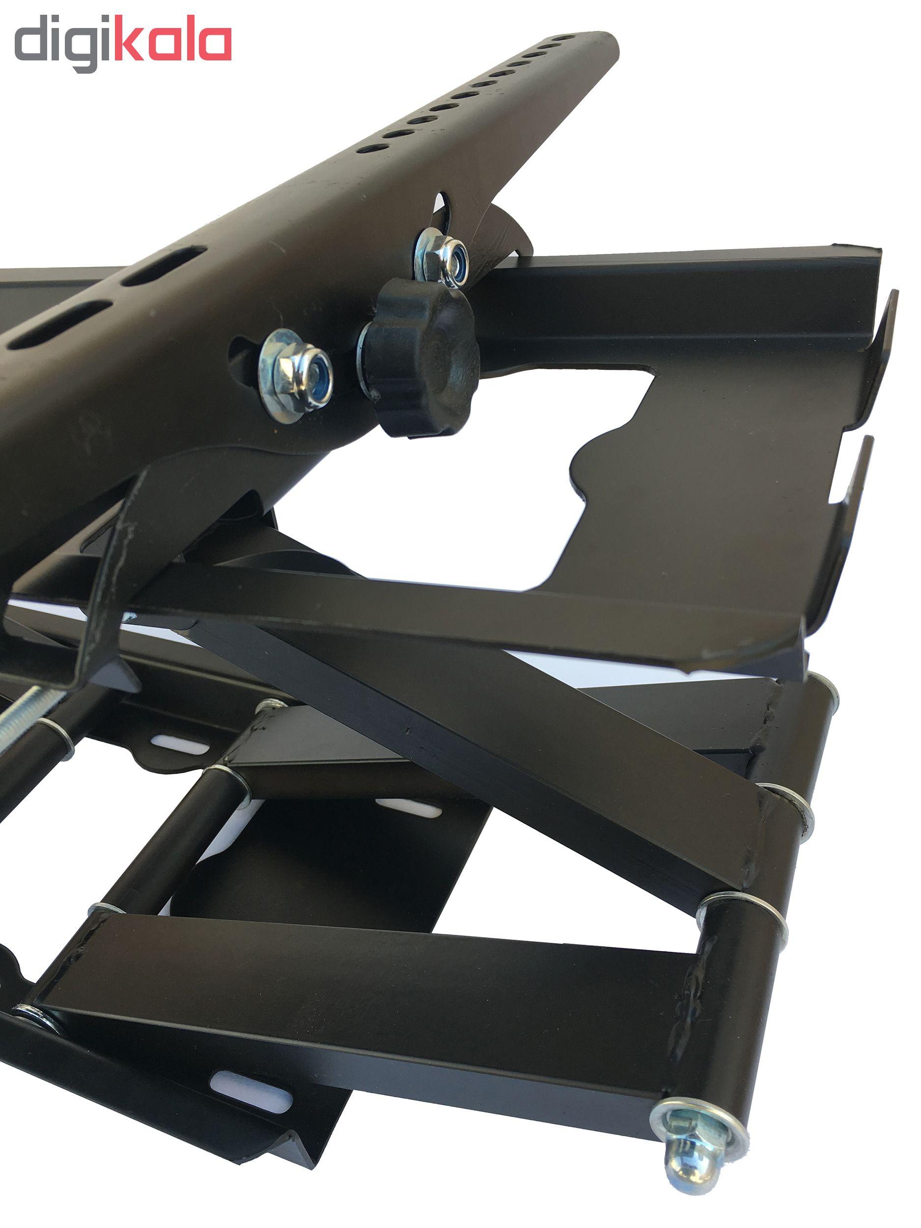 پایه دیواری تلویزیون کاردو مدل A3 مناسب برای تلوزیون 30 تا 65 اینچ