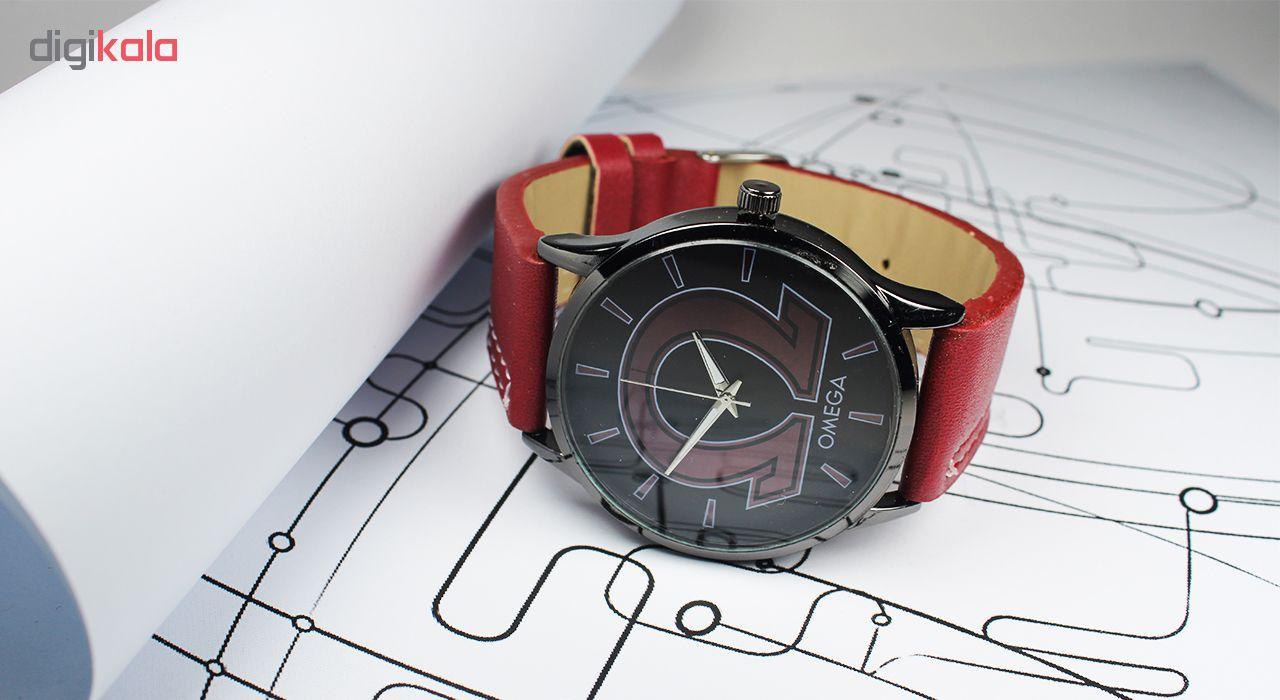 ساعت مچی عقربه ای مردانه مدل Omg-01