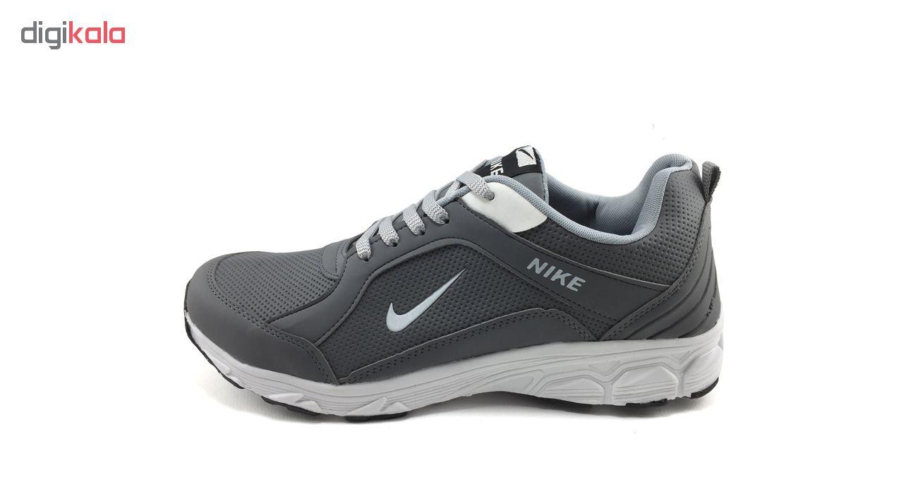 کفش مخصوص پیاده روی مردانه مدل B162رنگ طوسی