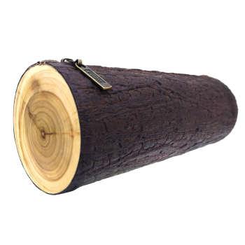 کیف لوازم آرایش آواک طرح چوب مدل 1023