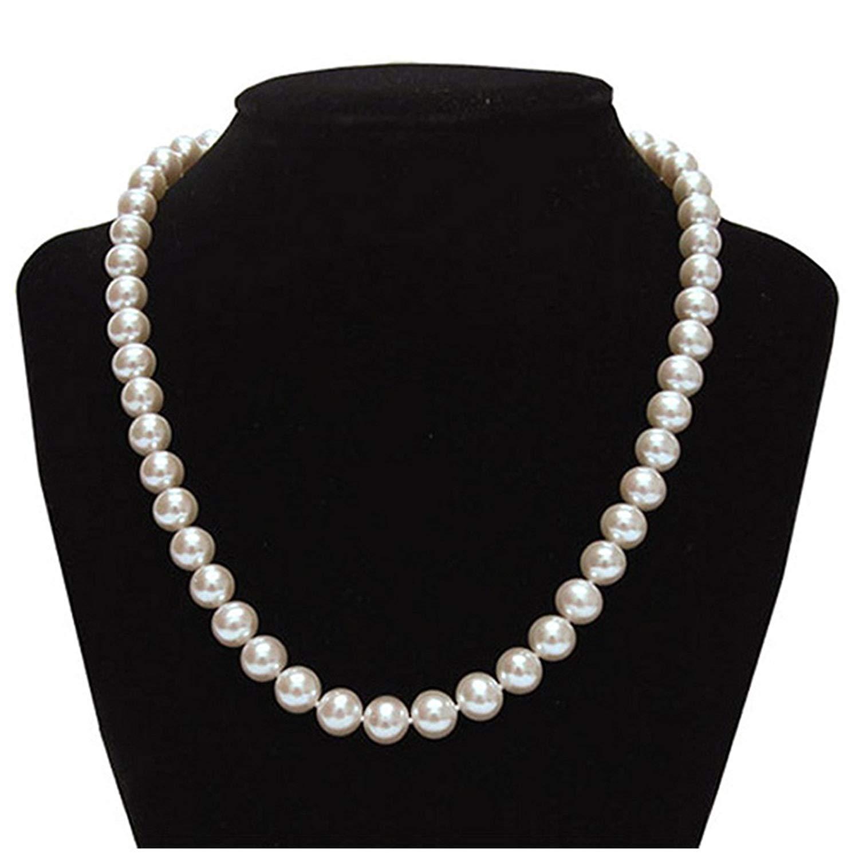 قیمت گردنبند زنانه چرم ذاریات مدل مروارید کد 152