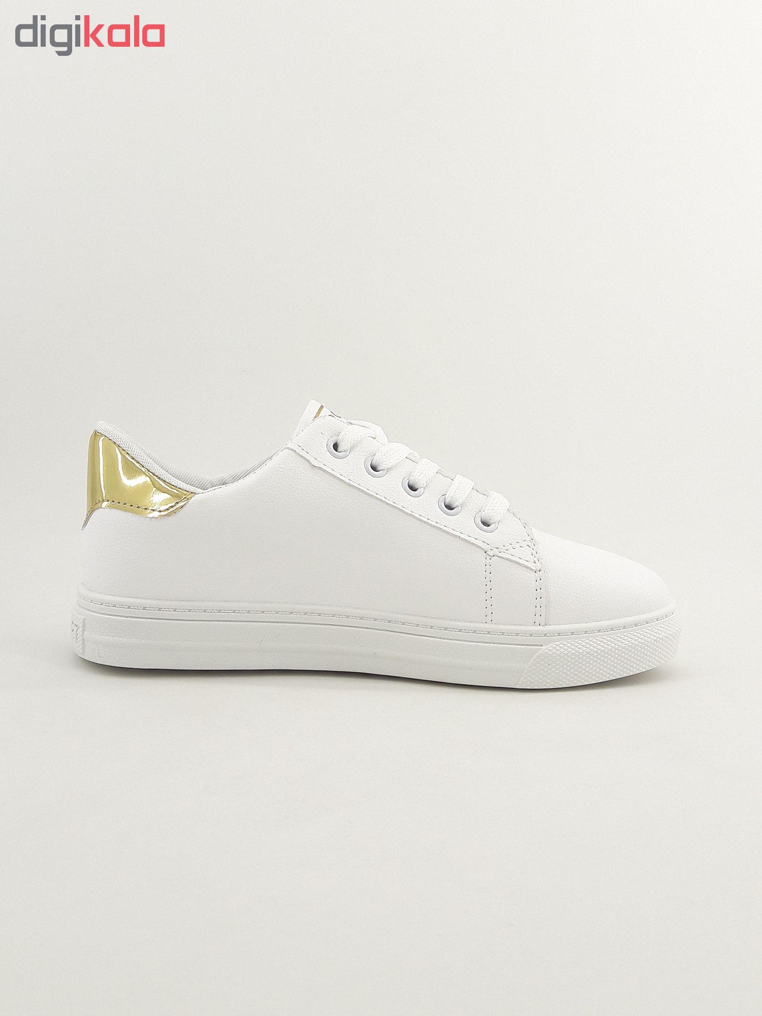 کفش راحتی زنانه اسپرت مدل 3stars.wh-gld-001