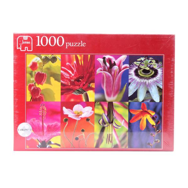 پازل 1000 تکه جامبو مدل Flower collage 8432