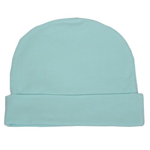 کلاه نوزادی نیلی کد 004