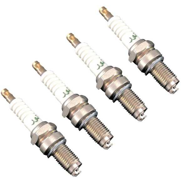 شمع موتور سیکلت نور مدل X5DC مناسب برای هندا cdi 125 بسته 4 عددی