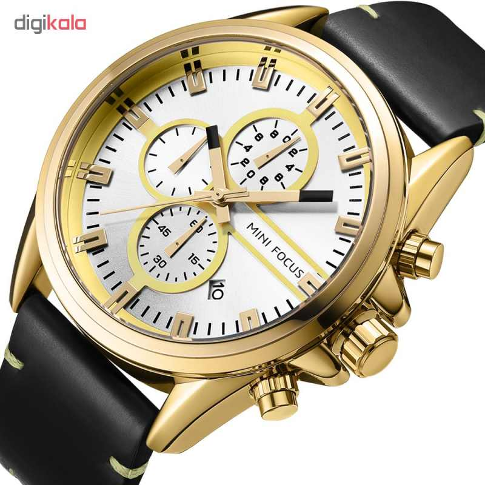 خرید ساعت مچی عقربه ای مردانه مینی فوکوس مدل mf0130g.01