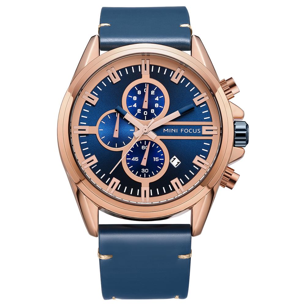 ساعت مچی عقربه ای مردانه مینی فوکوس مدل mf0130g.03