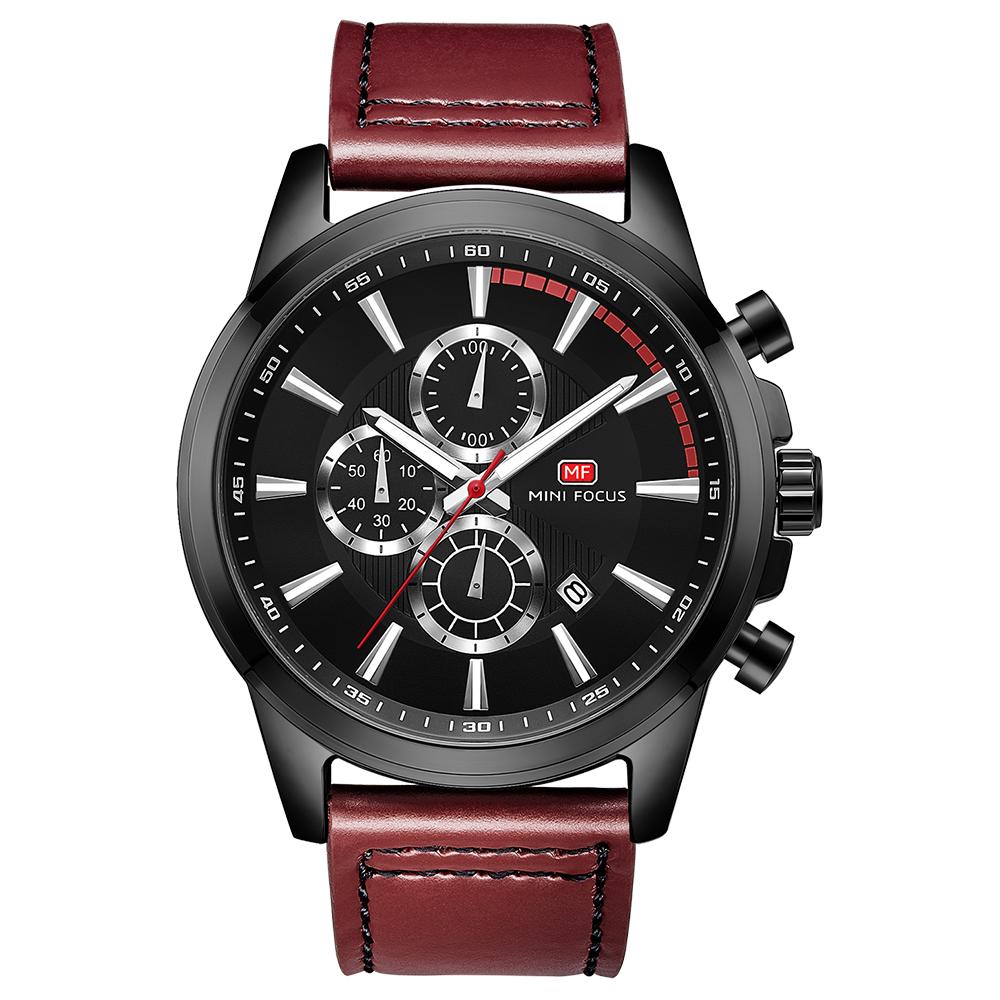 ساعت مچی عقربه ای مردانه مینی فوکوس مدل mf0129g.04