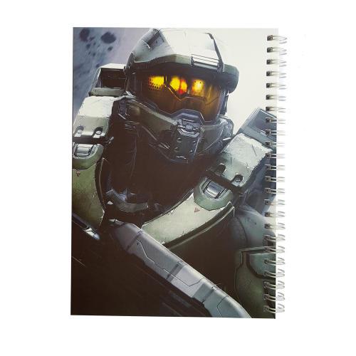 دفتر یادداشت طرح master chief1 مدل BSB-00616