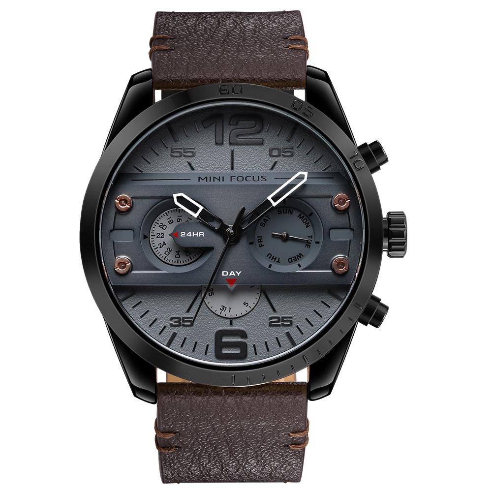 ساعت مچی عقربه ای مردانه مینی فوکوس مدل mf0068g.05
