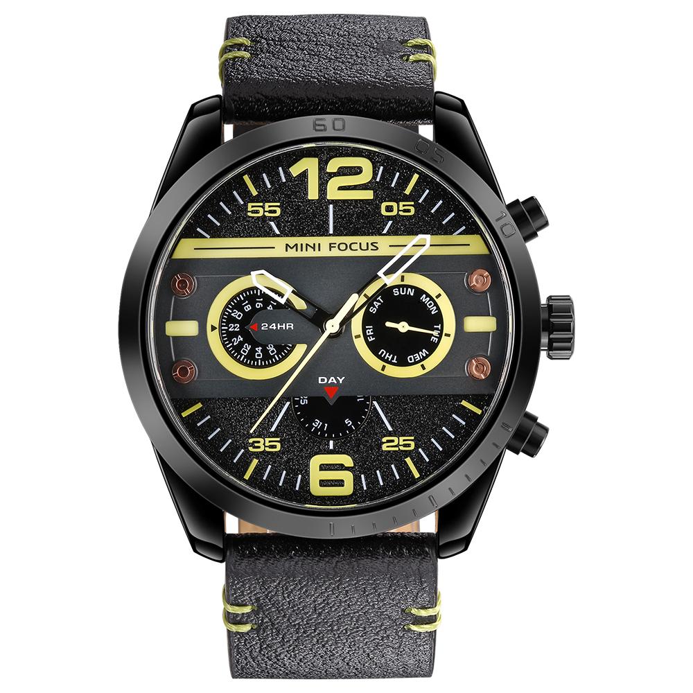 ساعت مچی عقربه ای مردانه مینی فوکوس مدل mf0068g.03