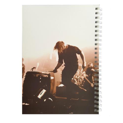 دفتر یادداشت طرح drummer مدل BSB-00623