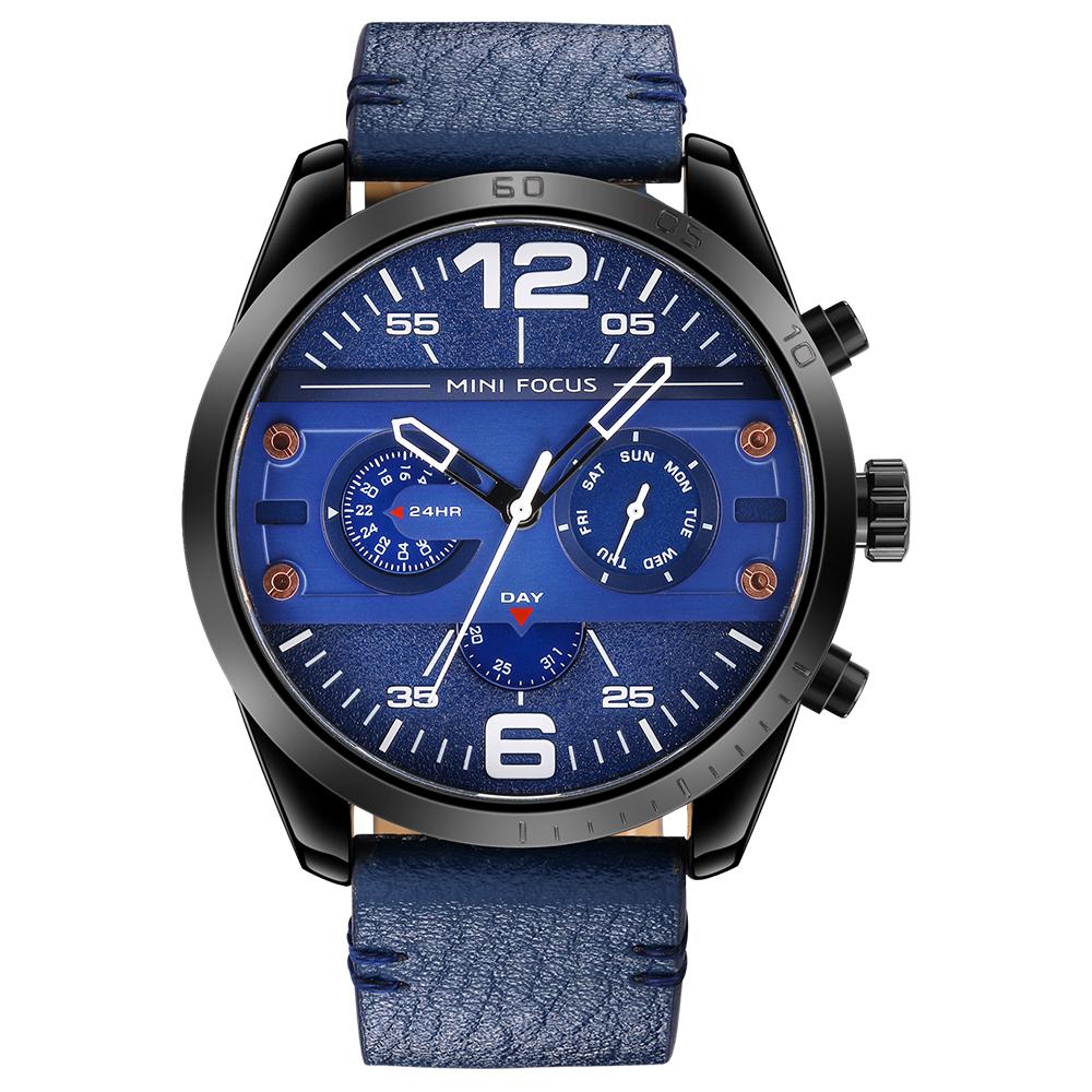 ساعت مچی عقربه ای مردانه مینی فوکوس مدل mf0068g.04