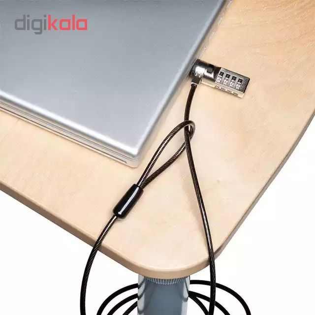 قفل کابلی مناسب لپ تاپ و وسایل الکتریکی مدل GH 2 main 1 2