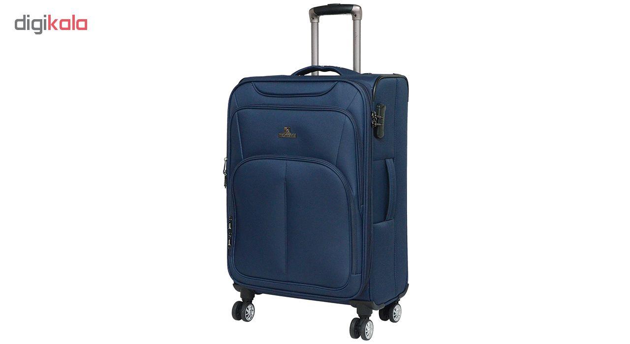 مجموعه سه عددی چمدان بلمونت مدل 1611