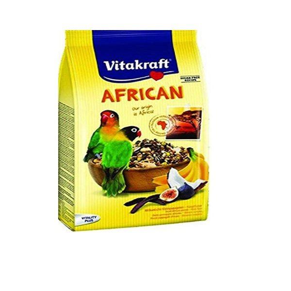 خوراک طوطی برزیلی ویتاکرافت مدل Africa For Agaporniden کد 21641 وزن 750 گرم