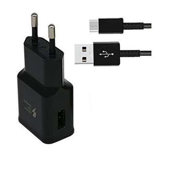 شارژر دیواری مدل TA20EBE به همراه کابل تبدیل USB-C