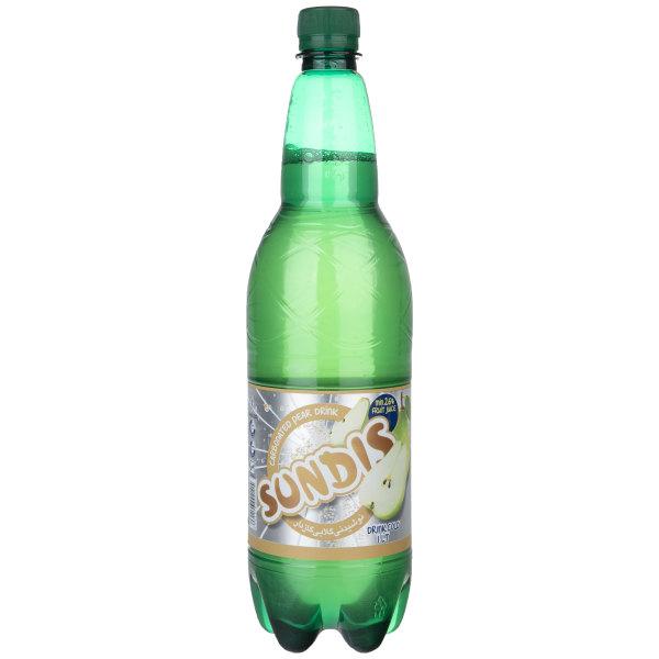 نوشیدنی گلابی گازدار ساندیس - 1 لیتر