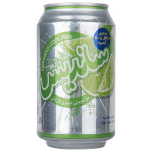 نوشیدنی لیموی گازدار ساندیس - 330 میلی لیتر