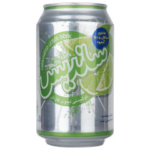 نوشیدنی لیموی گازدار ساندیس حجم 330 میلی لیتر