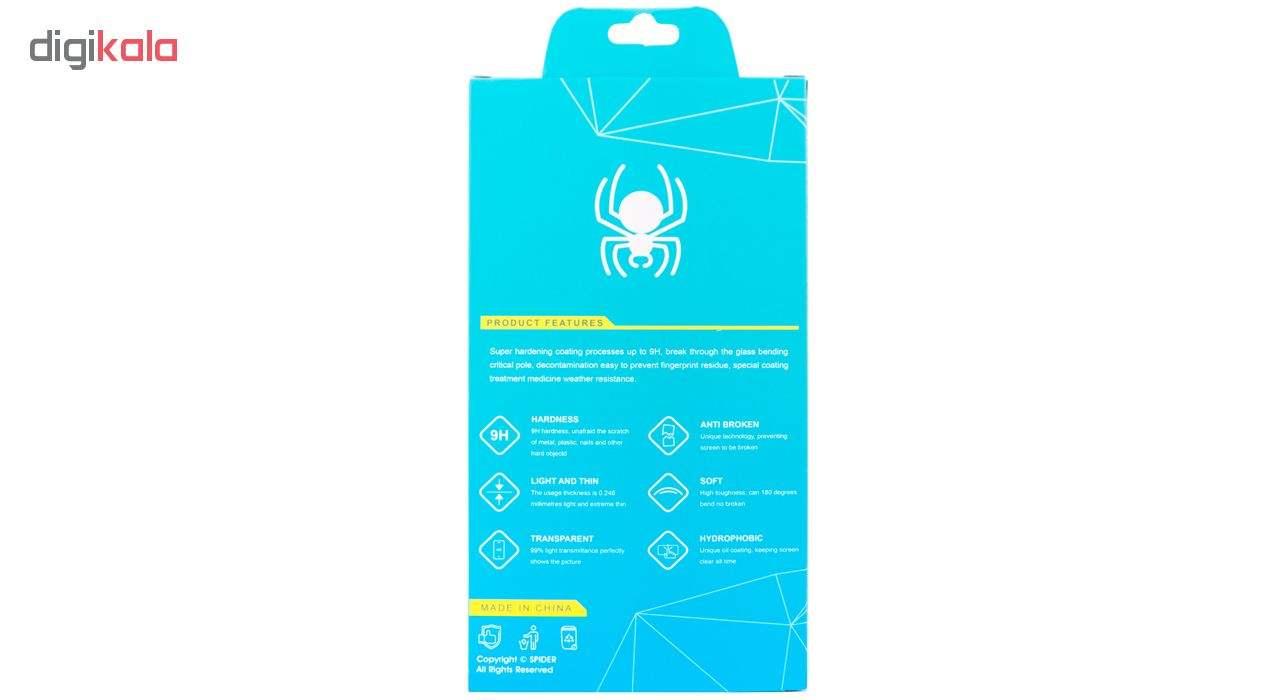 محافظ صفحه نمایش 6D اسپایدر مدل SH23 مناسب برای گوشی موبایل سامسونگ Galaxy A50 main 1 6