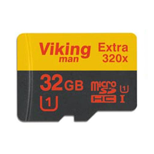 کارت حافظه microSDHC وایکینگ من مدل Extra 320X کلاس 10 استاندارد UHS-I U1 سرعت 48MBps ظرفیت 32 گیگابایت