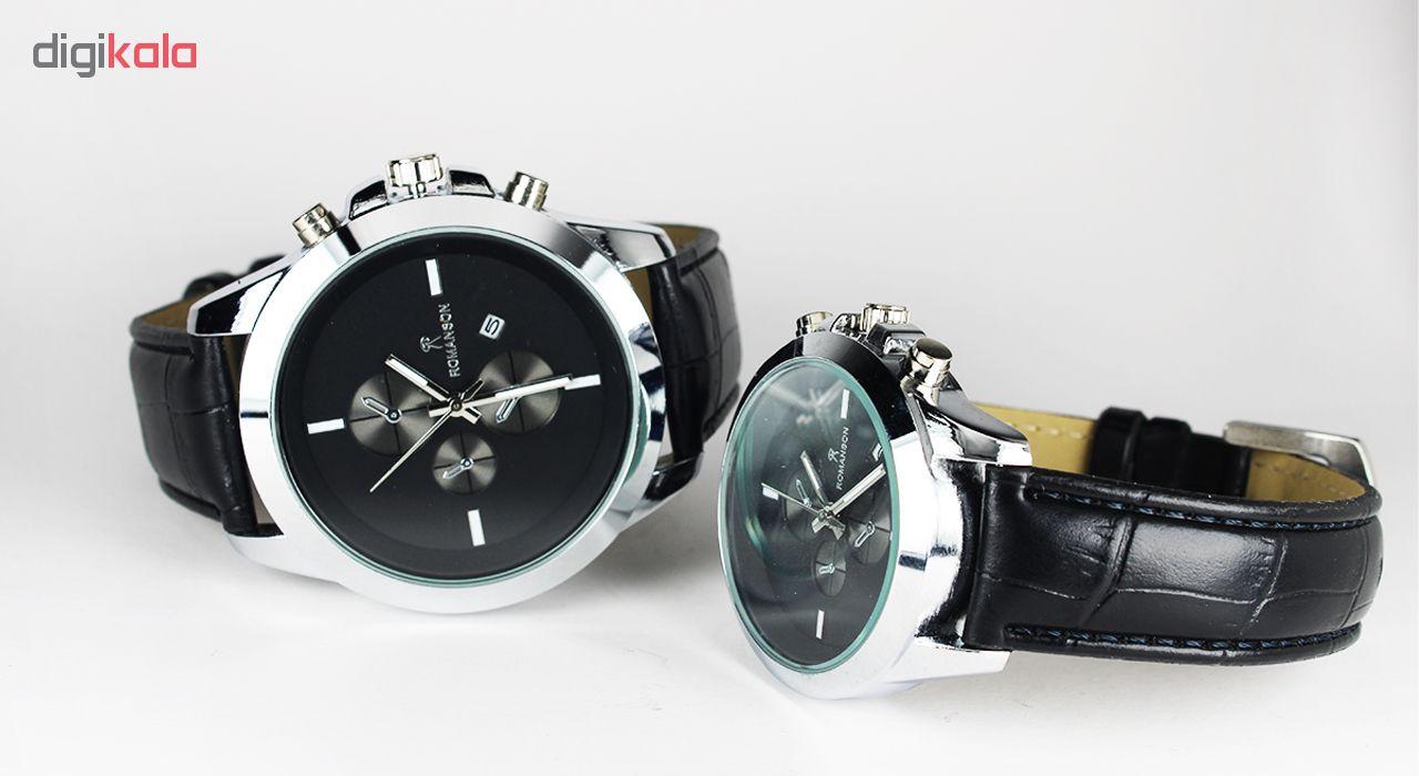 ست ساعت مچی عقربه ای مدل Rom-06