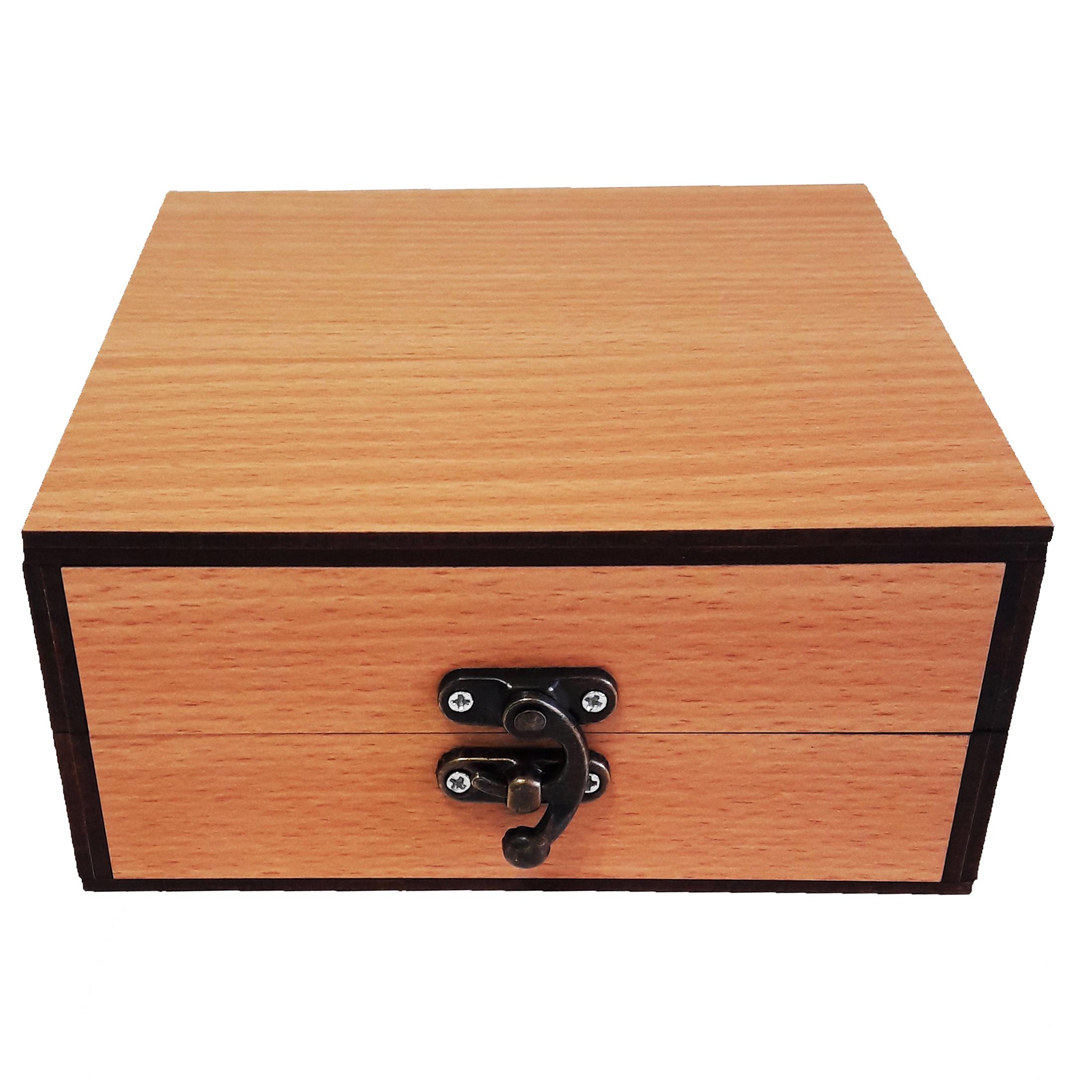 جعبه هدیه چوبی کادو آیهان باکس مدل 79