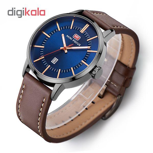 خرید ساعت مچی عقربه ای مردانه مینی فوکوس مدل mf0033g.04