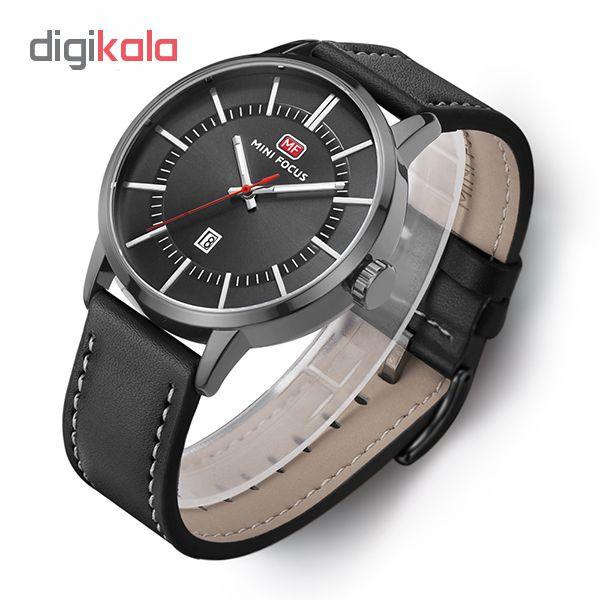 خرید ساعت مچی عقربه ای مردانه مینی فوکوس مدل mf0033g.03
