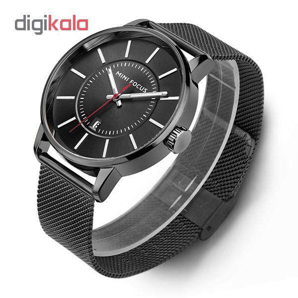 خرید ساعت مچی عقربه ای مردانه مینی فوکوس مدل mf0034g.01