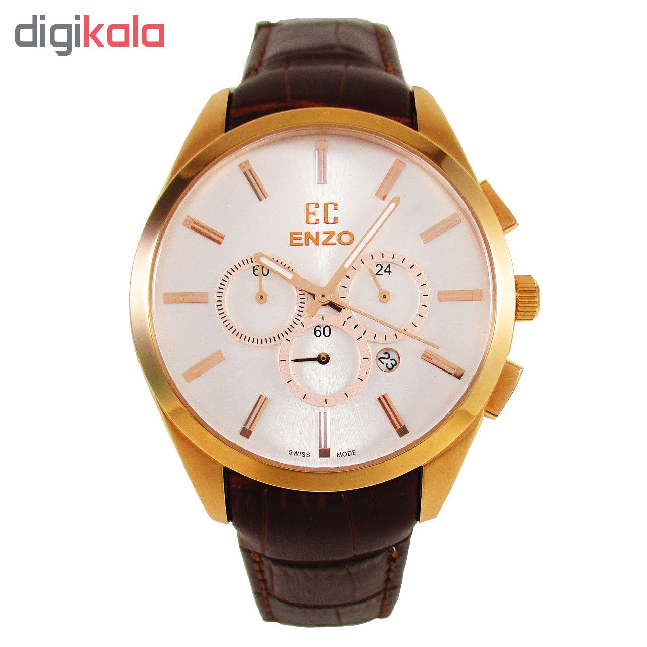 ساعت مچی عقربه ای مردانه انزو مدل EC-826