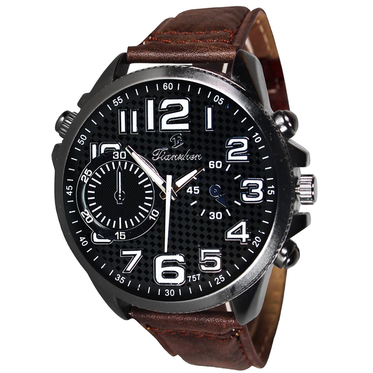 ساعت مچی عقربه ای مردانه فیانچن مدل M04
