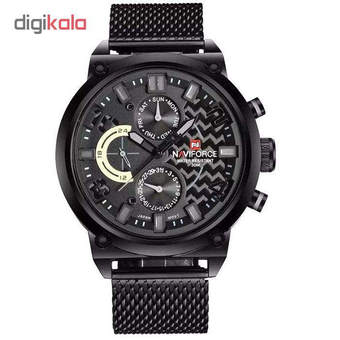 خرید ساعت مچی عقربه ای مردانه نیوی فورس مدل NF9068M / MMZ