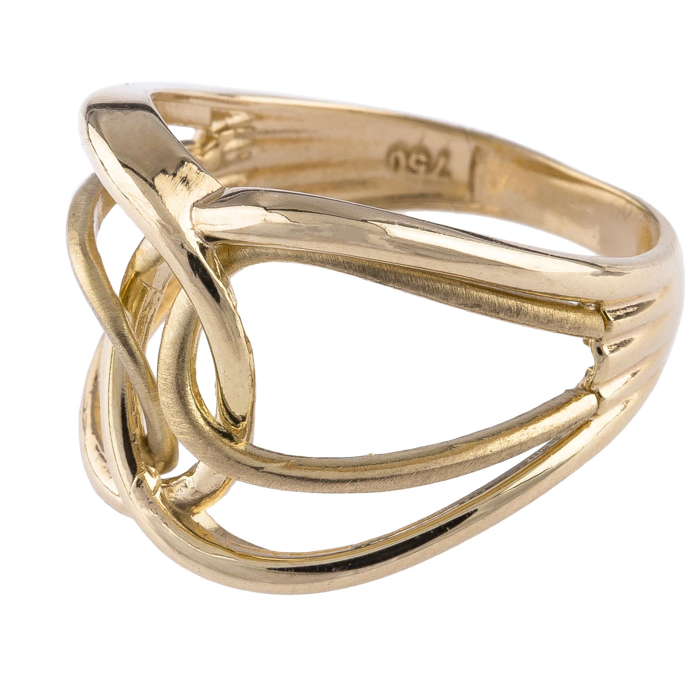 انگشتر طلا 18 عیار کد R119