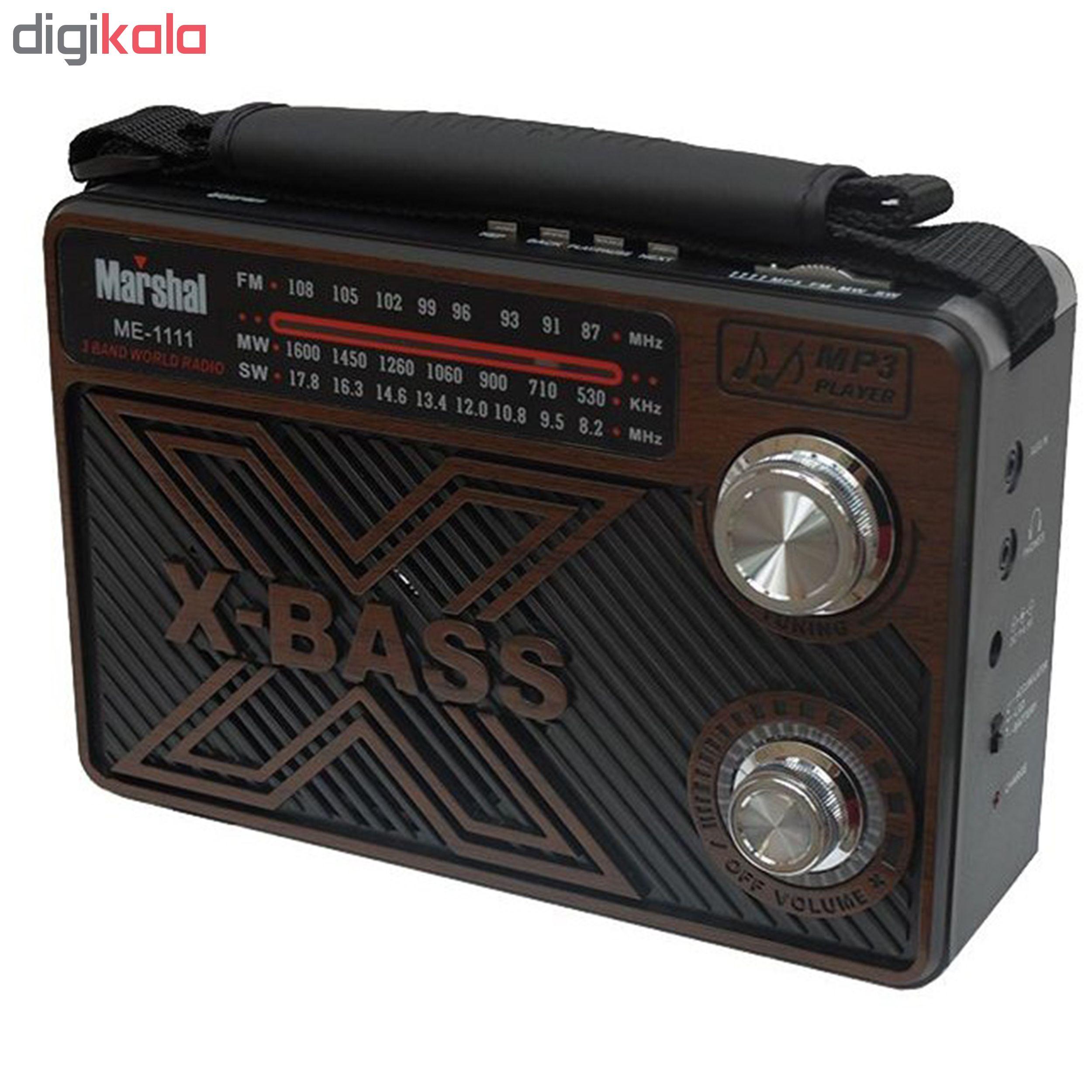 رادیو مارشال مدل ME-1111