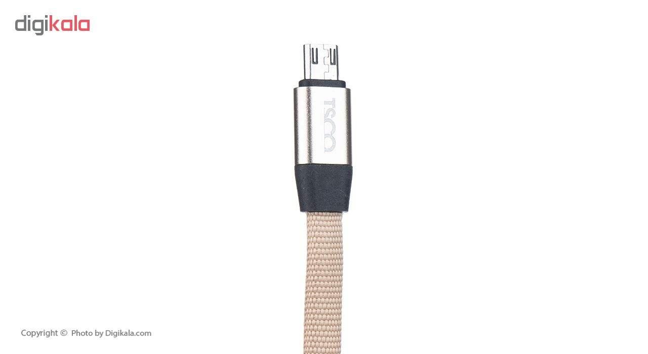 کابل تبدیل USB به microUSB تسکو مدل TC A48 طول 1 متر main 1 5