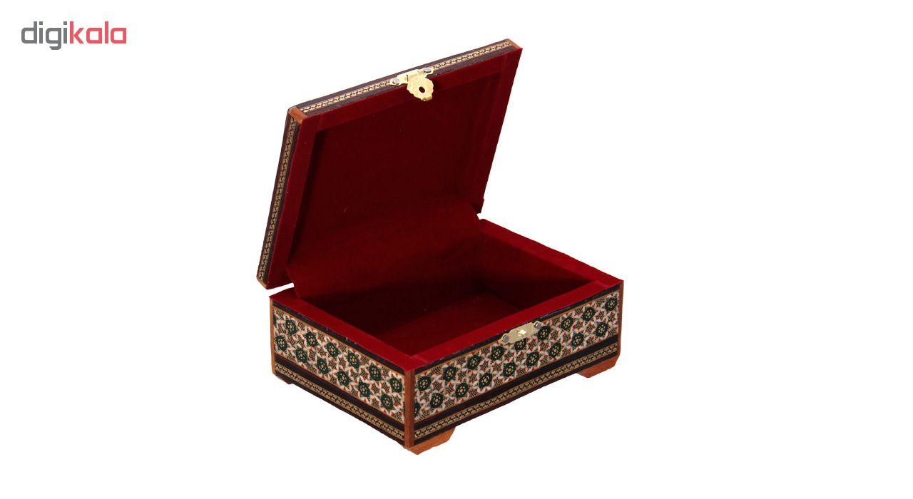 خرید                      جعبه جواهرات خاتم کاری کد 11-70061