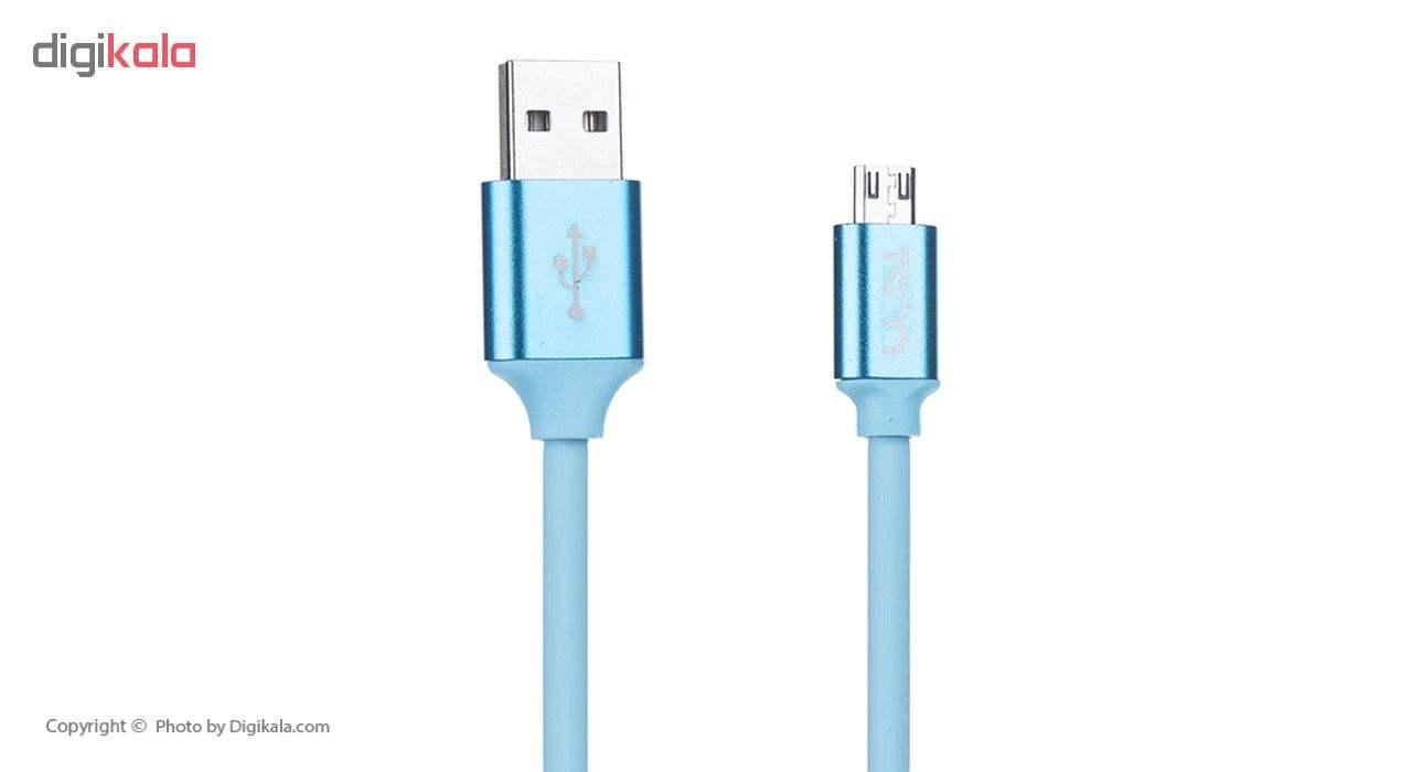 کابل تبدیل USB به microUSB تسکو مدل TC A54 طول 1 متر main 1 1