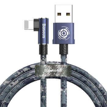 کابل تبدیل USB به لایتنینگ باسئوس مدل BC12 طرح Camoufage طول 1 متر