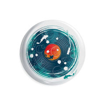 پیکسل ماسا دیزاین طرح ماهی موزیک گرامافون کد AS385