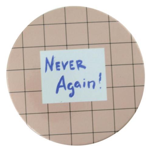 آینه جیبی طرح Never again