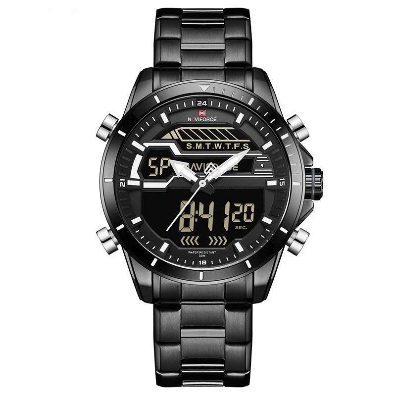 کد تخفیف                                      ساعت مچی عقربه ای مردانه نیوی فورس مدل NF9133M / ME-SE