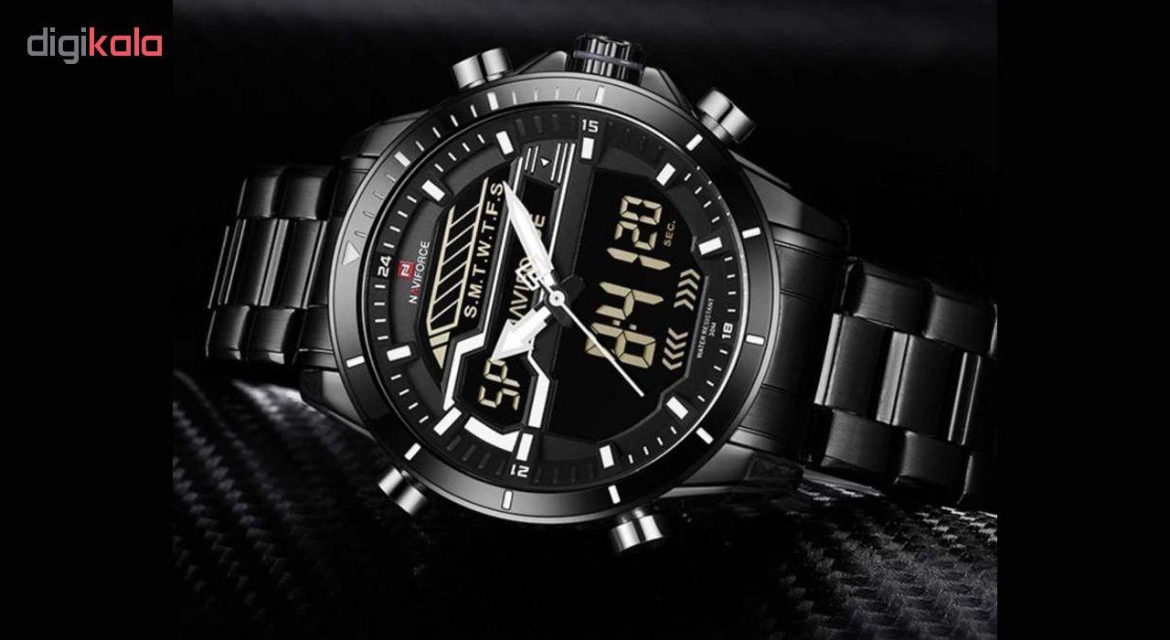 ساعت مچی عقربه ای مردانه نیوی فورس مدل NF9133M / ME-SE             قیمت