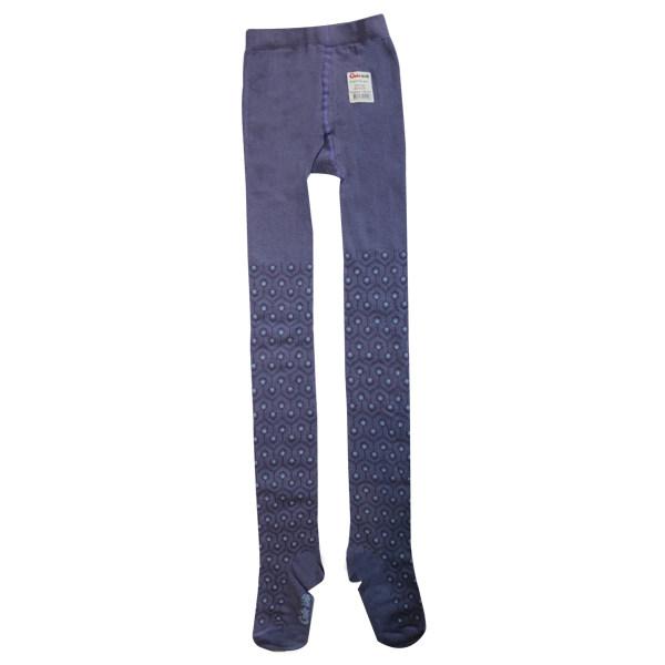 جوراب شلواری دخترانه کنته کیدز مدل  violet 4C-04-322